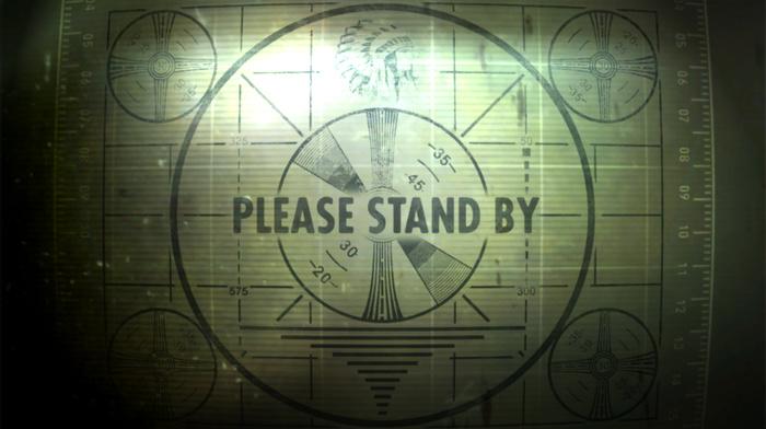 fallout 3, test patterns, vintage