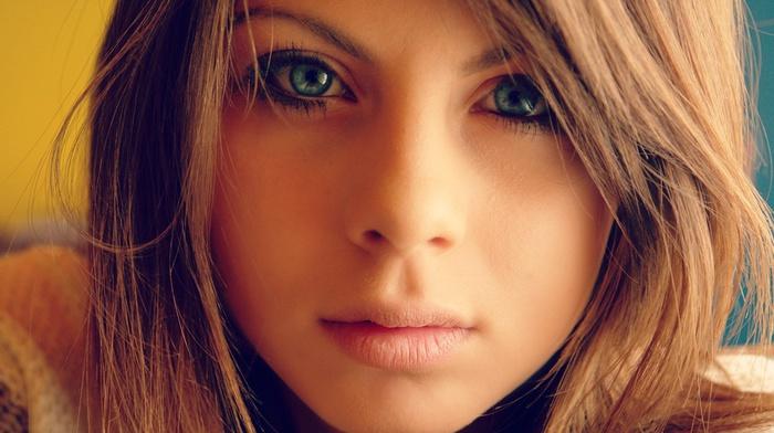Фото красивых девушек с голубыми глазами на аву в