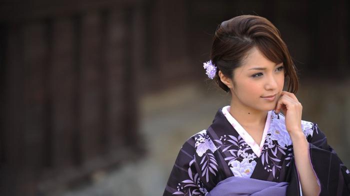 Japanese clothes, Japanese, kimono, mihiro, Japanese girl