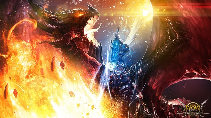 World of Warcraft, arthas, World of Warcraft Cataclysm, world of warcraft wrath of the lich king, Deathwing