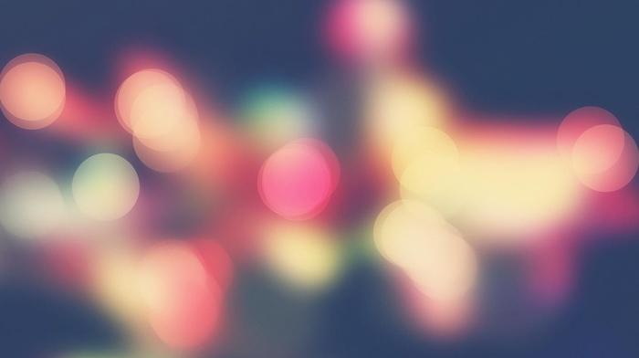 bokeh, abstract, blurred, lights