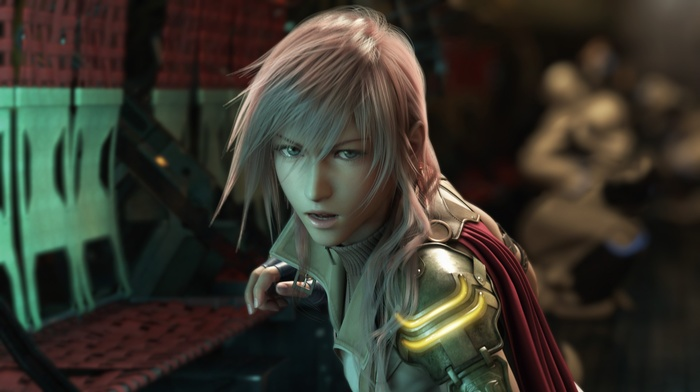 Final Fantasy XIII, Final Fantasy, video games, Claire Farron, lightning