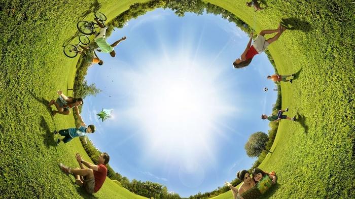 summer, creative, grass, people, park, Sun