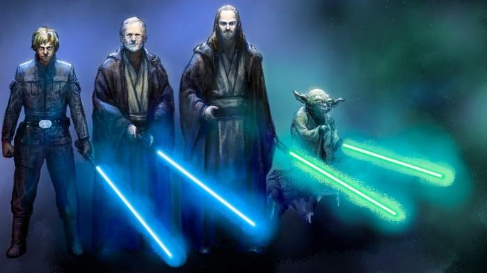 yoda, lightsaber, Star Wars, star wars episode v, the empire strikes back, jedi
