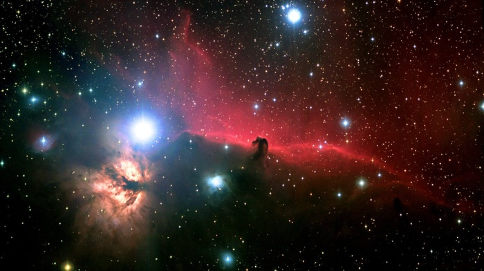 nebula, stars, Horsehead Nebula, space