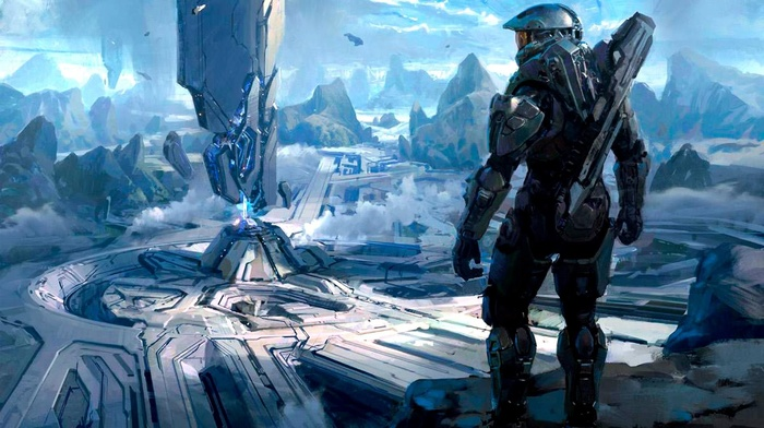 halo 4, Master Chief, Spartans, Halo, video games, 343 Industries