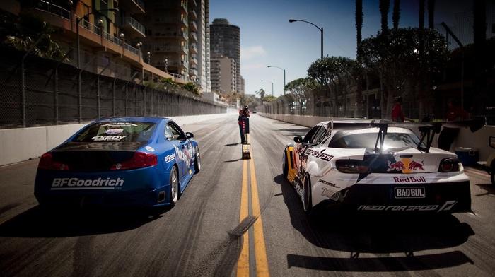 дорога, гоночные машины, машина, гонки