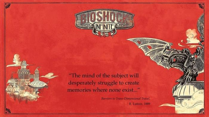 elizabeth bioshock, Rapture, BioShock Infinite, colombia, Songbird BioShock, BioShock, quote, video games