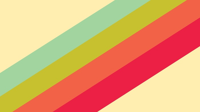 minimalism, simple, colorful, abstract, digital art, stripes, lines