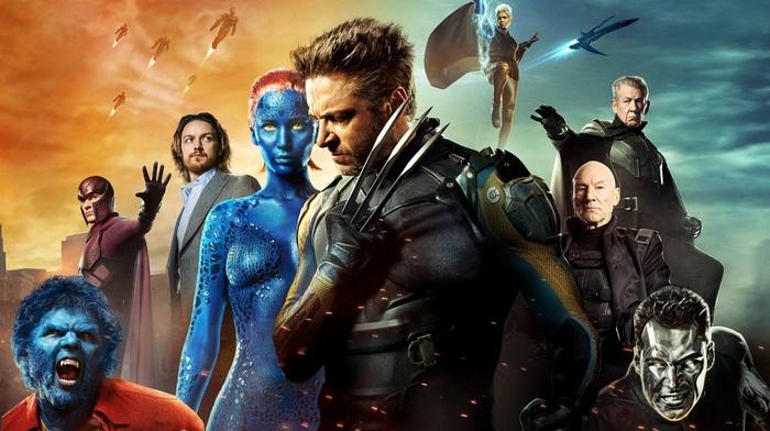Ian McKellen, Wolverine, movies, Patrick Stewart, Charles Xavier, x, men, men days of future past, Beast character, Magneto, Storm character, Jennifer Lawrence, mystique