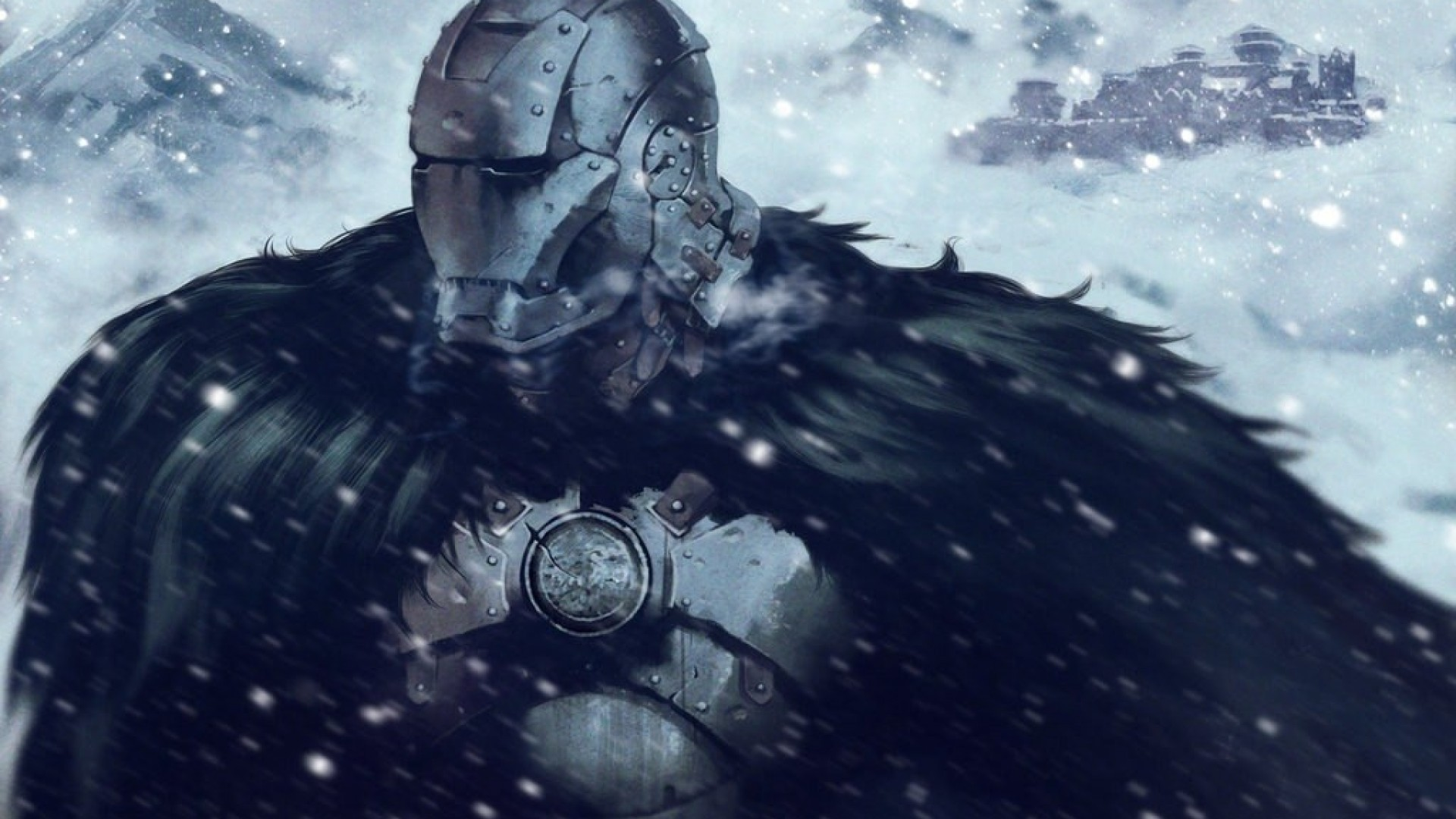 Crossover Snow House Stark Game Of Thrones Iron Man