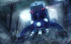 machine, Ghost in the Shell, Tachikoma, anime