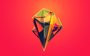 digital art, Justin Maller, Facets