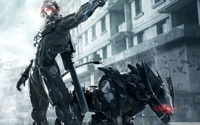 video games, Raiden, futuristic, Metal Gear Rising Revengeance, Blade Wolf