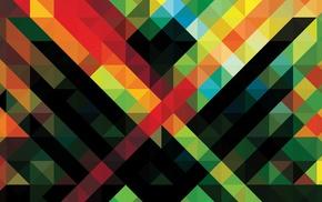 digital art, geometry, abstract, pattern