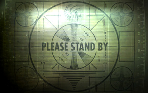 Fallout 3, test patterns, vintage