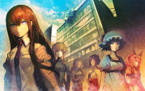 SteinsGate, anime, Faris Nyannyan, huke artist, Shiina Mayuri, Kiryuu Moeka