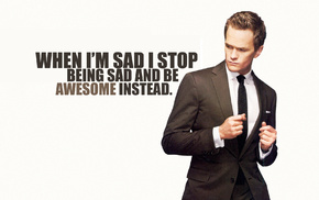 men, Neil Patrick Harris, quote, How I Met Your Mother, Barney Stinson