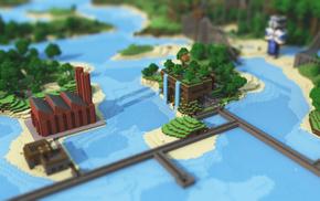 Minecraft, render, video games