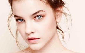 blue eyes, Barbara Palvin, model, brunette, girl, face
