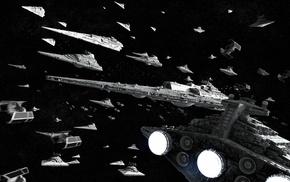 Звездный войны, CGI, космический корабль