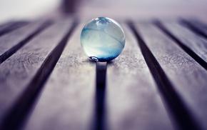 macro, blue, photography, wood, translucent, marble