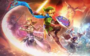 Zelda, The Legend of Zelda, Link, video games