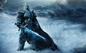 Arthas, World of Warcraft, World of Warcraft Wrath of the Lich King, video games, Lich King