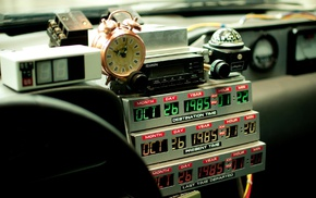 Back to the Future, DeLorean, time travel, movies