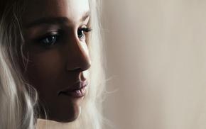 Game of Thrones, Daenerys Targaryen, Emilia Clarke, drawing
