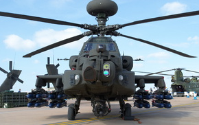 AH, 64 Apache, military, Boeing Apache AH, 64D, helicopters