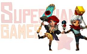 children, indie games, Red Transistor, Bastion, PlayStation 4, Transistor