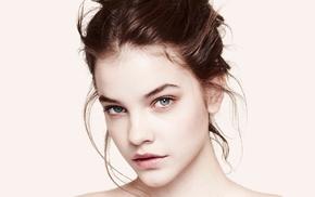girl, looking at viewer, model, face, Barbara Palvin