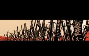 sword, katana, Samurai_Champloo, samurai