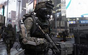 Call of Duty, Call of Duty Advanced Warfare, video games, CGI