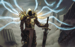video games, Diablo III, Tyrael
