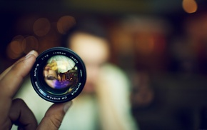 bokeh, lens, depth of field