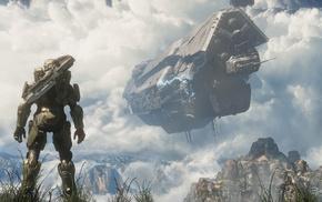 космический корабль, игры, Halo