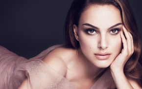 actress, face, girl, eyes, lips, Natalie Portman