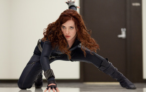 Scarlett Johansson, girl, Iron Man 2, actress, movies, Black Widow