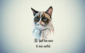 Grumpy Cat, quote, cartoon