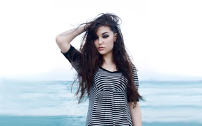 pornstar, brunette, long hair, Sasha Grey