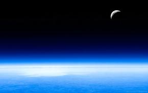 water, satellite, space