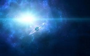 космический арт, планета, космос