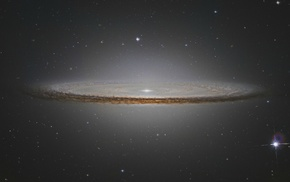 galaxy, space, stars, Sombrero Galaxy