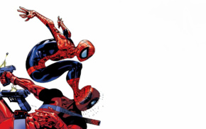 Spider, Man, Deadpool