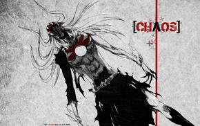 selective coloring, Vasto Lorde, grunge, Kurosaki Ichigo, Hollow, Bleach