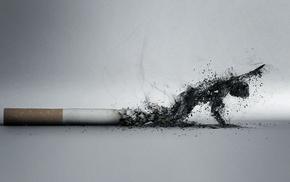 произведение искусства, дым