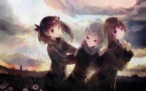 Sora no Woto, Kannagi Noel, Suminoya Kureha, anime