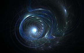 lights, universe, galaxy